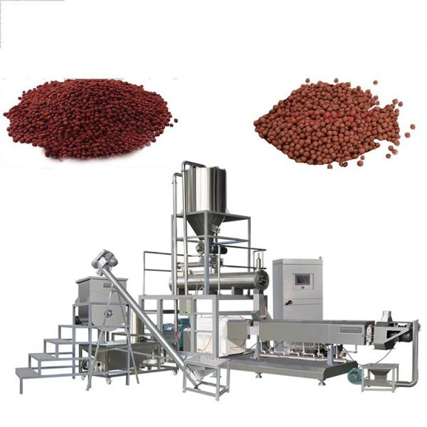 with Three Jacket Conditioner Vannamei Fish Feed Production Equipment