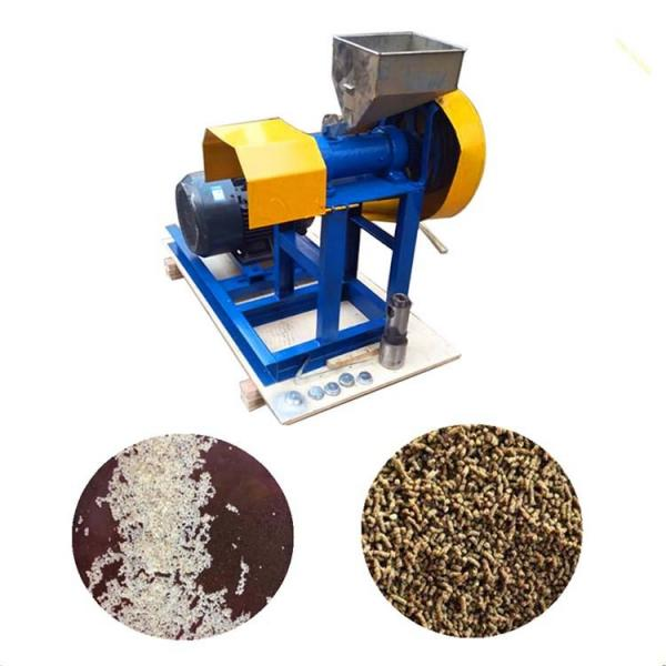 China Factory Price Automatic Floating Fish Feed Pellet Making Machine