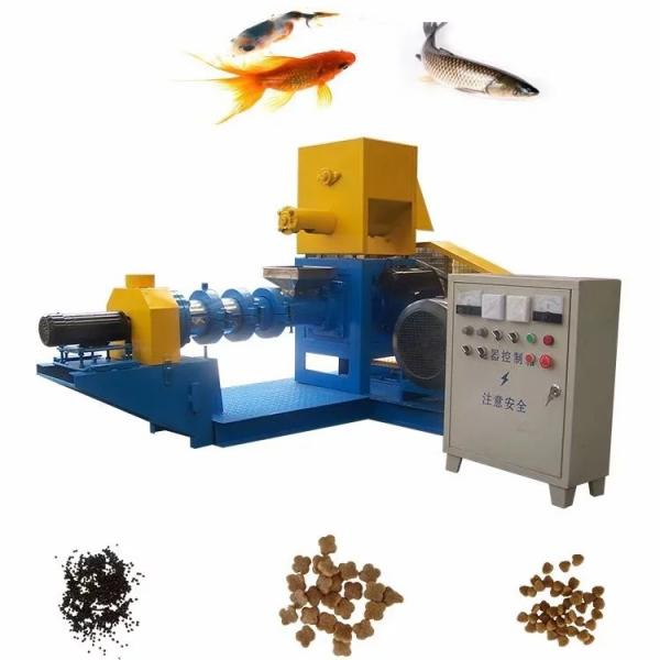 Floating Fish Feed Production Line 700-800kg/H Fish Feed Making Plant